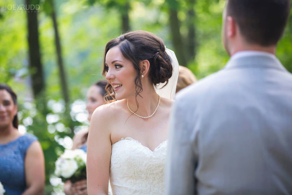 Val-des-Monts Wedding by Ottawa Wedding Photographer Joey Rudd Photography Cottage Ceremony Bride