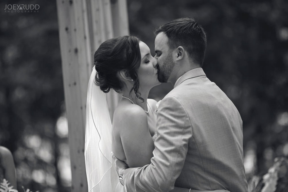 Val-des-Monts Wedding by Ottawa Wedding Photographer Joey Rudd Photography Cottage Ceremony emotion tears