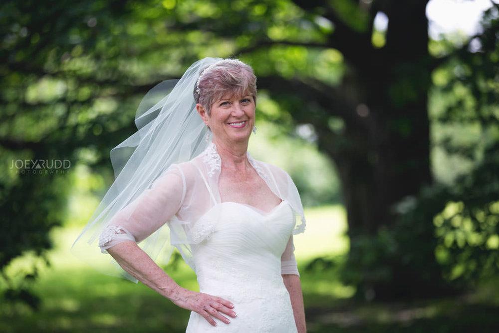 Ottawa Wedding Photographer Joey Rudd Photography Arboretum in Ottawa Park Location for Photos Outside Bride