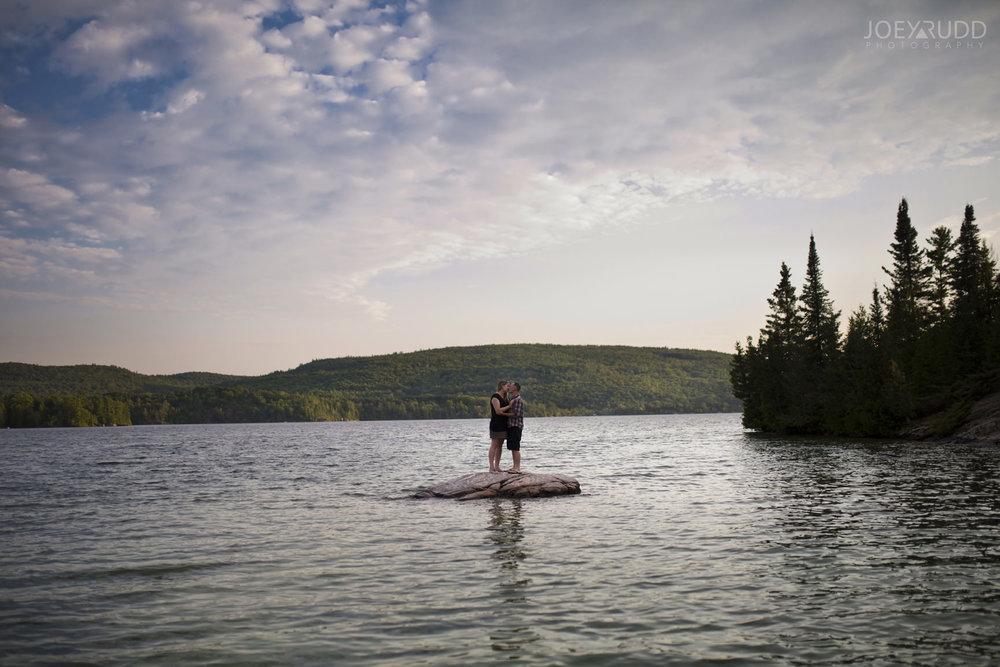 Cottage Engagement Session by Ottawa Wedding Photographer Joey Rudd Photography Lake
