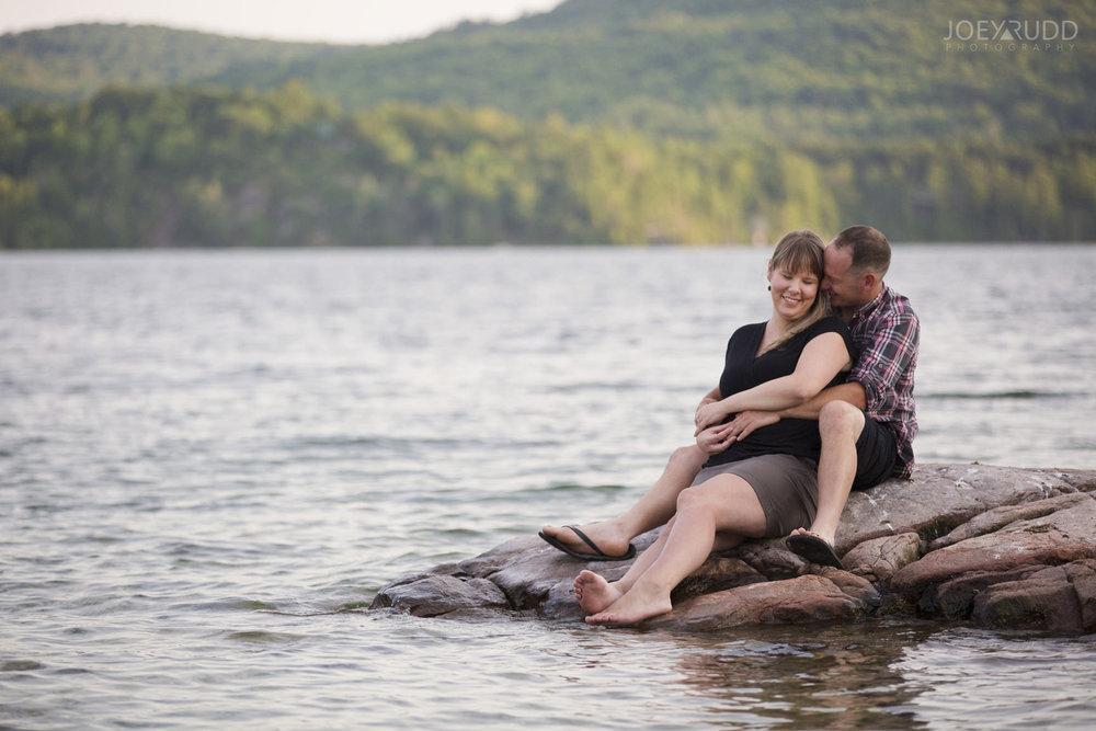 Cottage Engagement Session by Ottawa Wedding Photographer Joey Rudd Photography Island