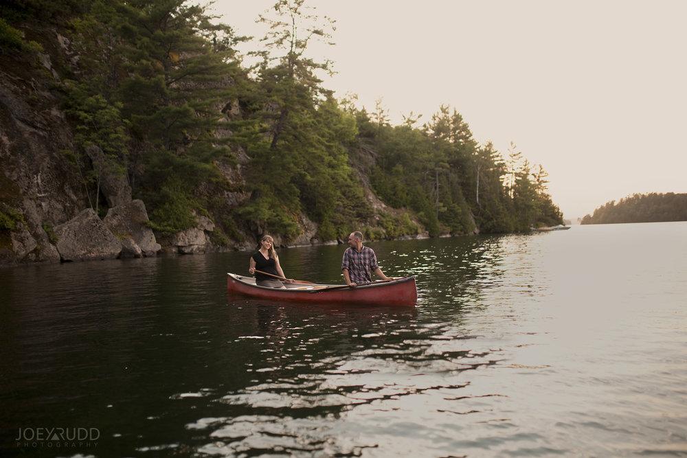 Cottage Engagement Session by Ottawa Wedding Photographer Joey Rudd Photography Canoe Lifestyle