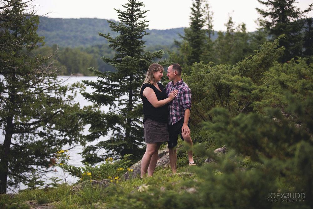 Cottage Engagement Session by Ottawa Wedding Photographer Joey Rudd Photography Nature