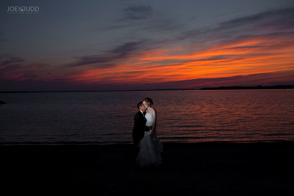 Ottawa Wedding Photos at Andrew Haydon Park and Brittania Beach by Ottawa Wedding Photographer Joey Rudd Photography Bride & Groom Photo Sunset Beach