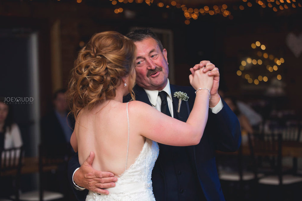 Bean Town Ranch Wedding by Ottawa Wedding Photographer Joey Rudd Photography Barn Rustic Reception Venue Father Daughter Dance