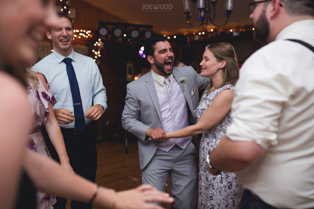 Bean Town Ranch Wedding by Ottawa Wedding Photographer Joey Rudd Photography Barn Rustic Reception Venue Candid Dancing