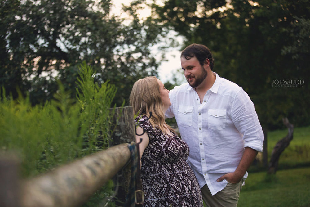 Engagement Session by Ottawa Wedding Photographer Joey Rudd Photography Rustic Farm