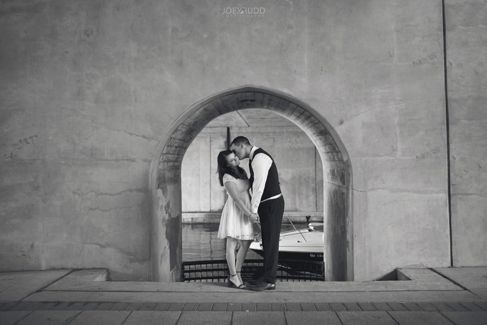Ottawa Elopement Wedding by Ottawa Wedding Photographer Joey Rudd Photography Art Gallery Major's Hill Park Parliament Chateau Laurier Exceptional Ceremonies Tunnel