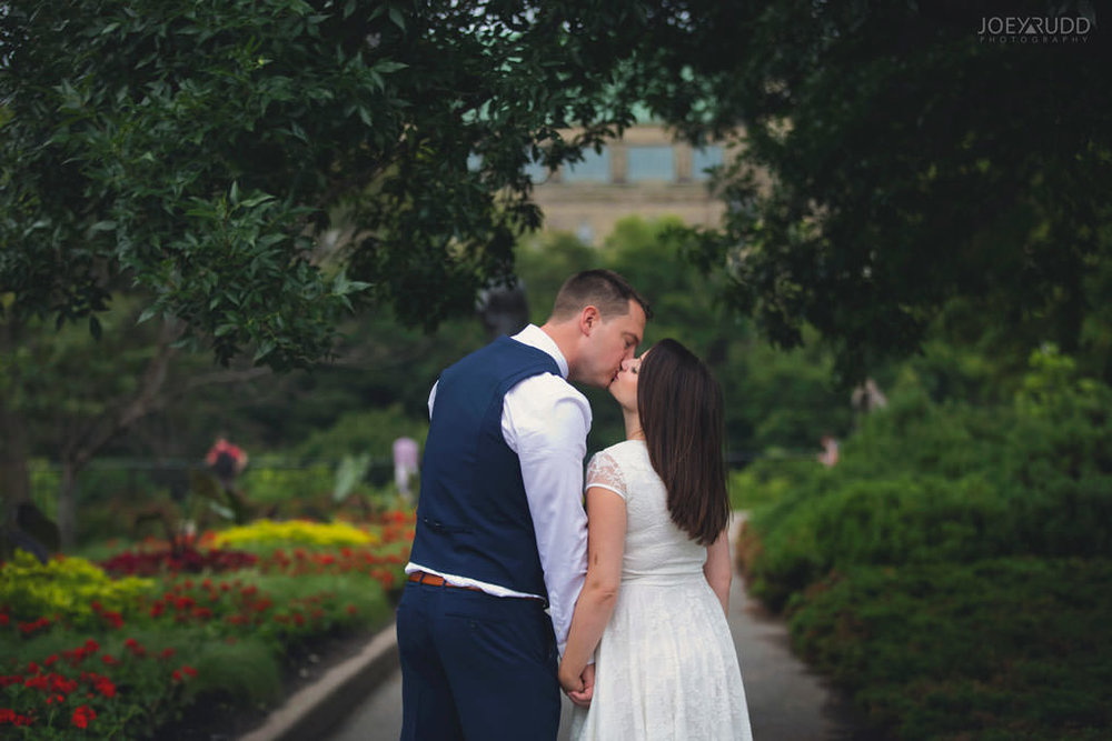 Ottawa Elopement Wedding by Ottawa Wedding Photographer Joey Rudd Photography Art Gallery Major's Hill Park Parliament Chateau Laurier Exceptional Ceremonies Flowers
