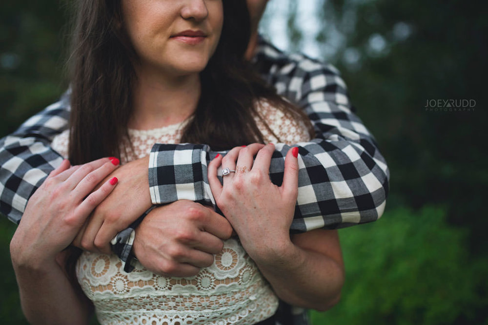 Engagement session at the Arboretum by Ottawa Wedding Photographer Joey Rudd Photography Details Rings