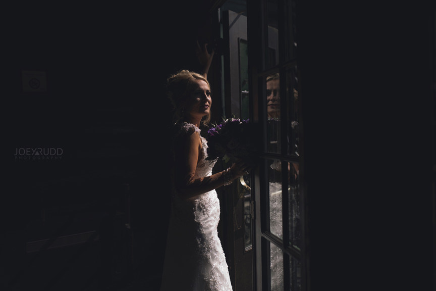 wedding at chateau montebello by ottawa wedding photographer Joey Rudd Photography First Look Dramatic