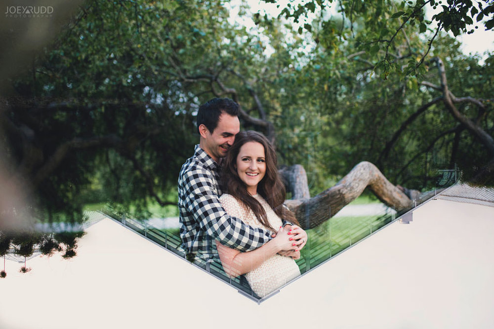 Ottawa Engagement Session at the Experimental Farm and Arboretum by Ottawa Wedding Photographer Joey Rudd Photography Double Exposure Photography Multiple Exposure Photo