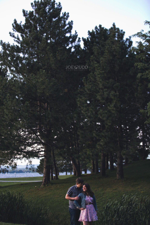 Andrw Haydon Park Engagement Photos by Ottawa Wedding Photographer Joey Rudd Photography Trees