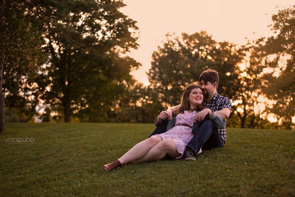 Andrw Haydon Park Engagement Photos by Ottawa Wedding Photographer Joey Rudd Photography Sunset Hill