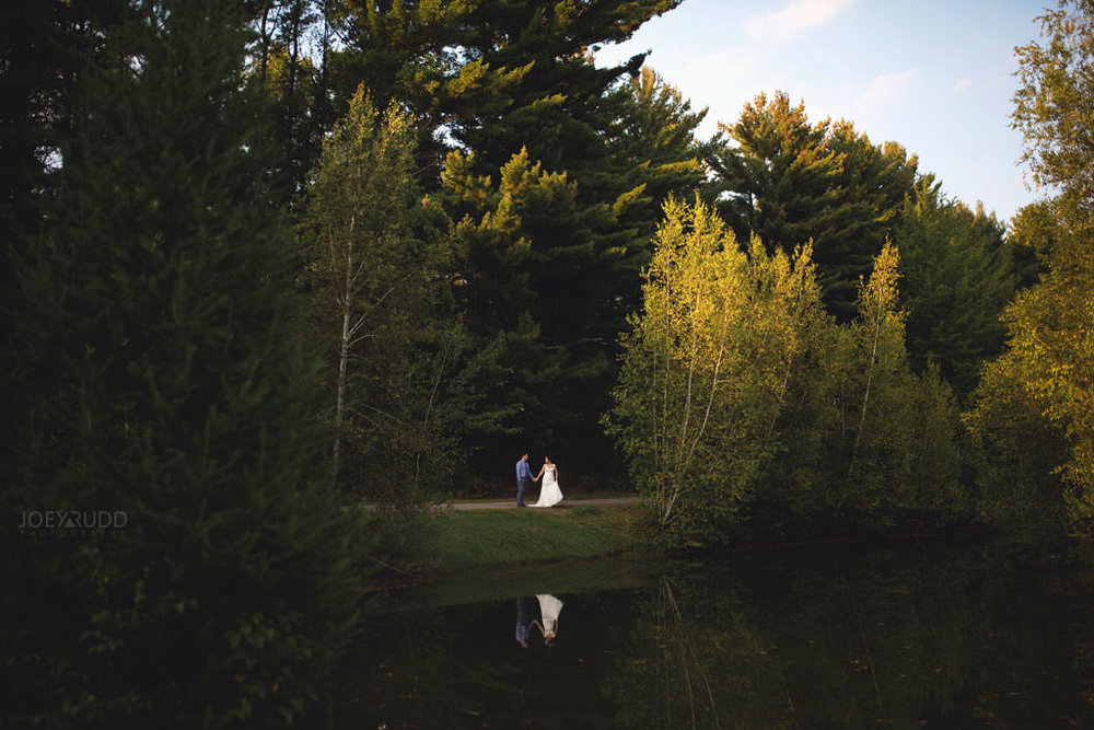 Bean Town Ranch Wedding by Ottawa Wedding Photograpner Joey Rudd Photography Water