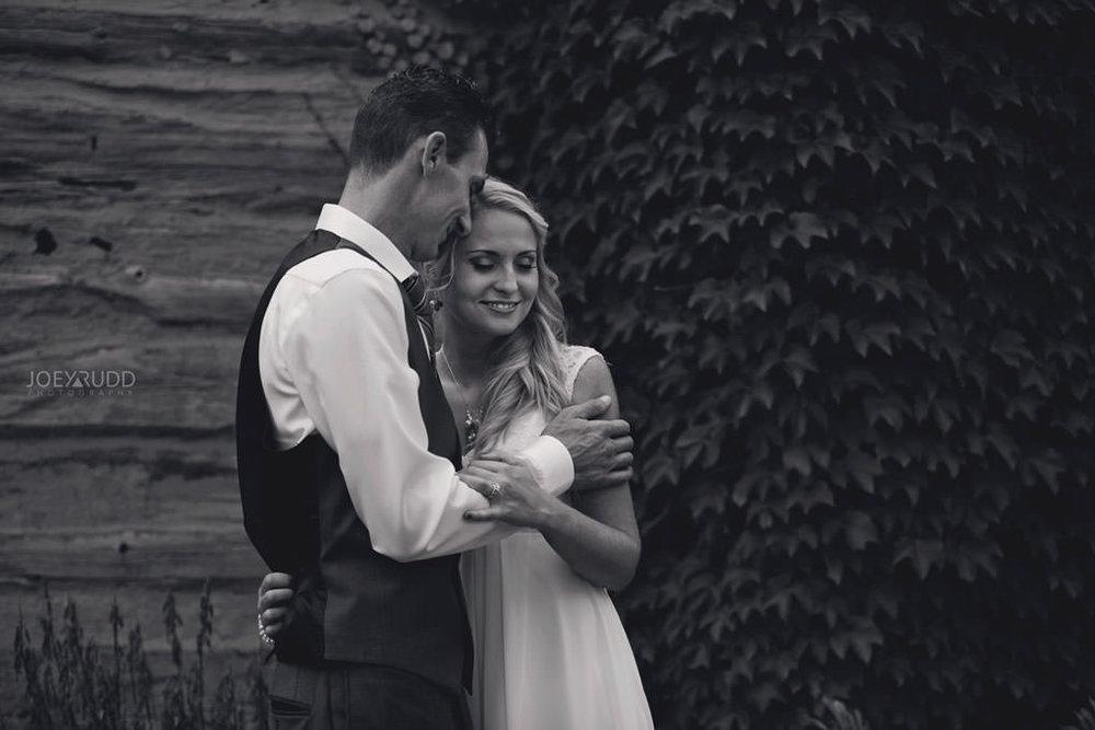 Ottawa Wedding Photography by Ottawa Wedding Photographer Joey Rudd Photography Elopement Carleton Place Smiths Falls Ontario Rustic Ivy Log Cabin