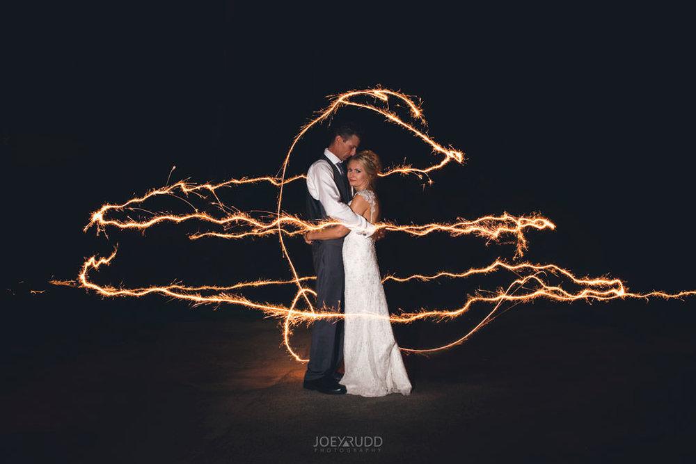 Ottawa & Quebec Wedding Photography by Ottawa Wedding Photographer Joey Rudd Photography Wedding at Fairmont Chateau Montebello Piper Avenue Wedding Golf Clubhouse Sparklers