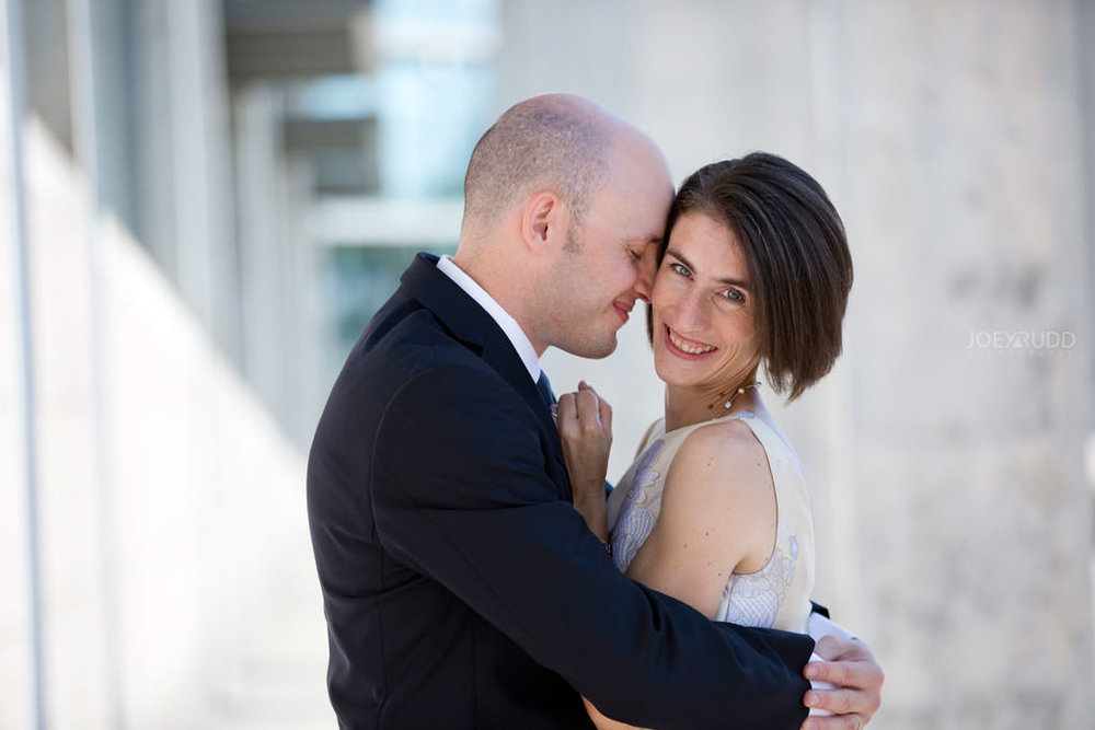 Elopement Wedding by Ottawa Wedding and Elopement Photographer Joey Rudd Photography Art Gallery Nepean's Point Majors Hill Chateau Laurier Byward Market