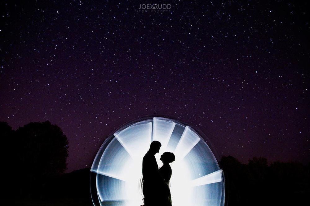 Fairmont Chateau Montebello Wedding by Ottawa Wedding Photographer Joey Rudd Photography Light Painting