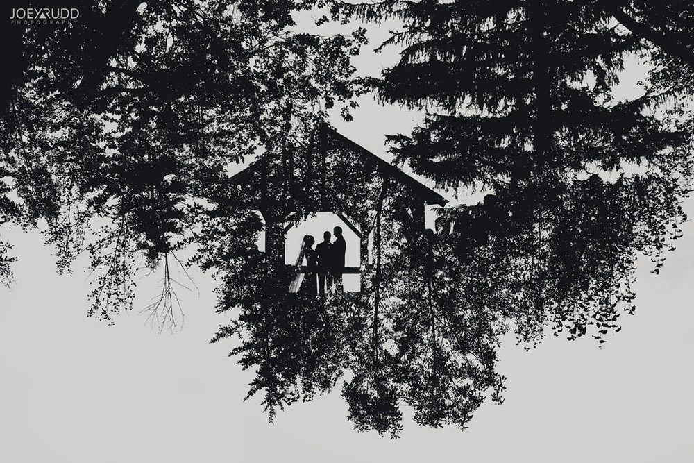 Fairmont Chateau Montebello Wedding by Ottawa Wedding Photographer Joey Rudd Photography Double Exposure