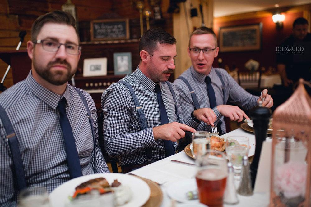 Bean Town Ranch Wedding by Ottawa Wedding Photographer Joey Rudd Photography Reception Wedding Venue Wedding Party Candid