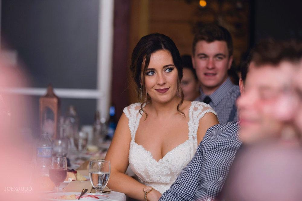 Bean Town Ranch Wedding by Ottawa Wedding Photographer Joey Rudd Photography Reception Wedding Venue Bride Moment
