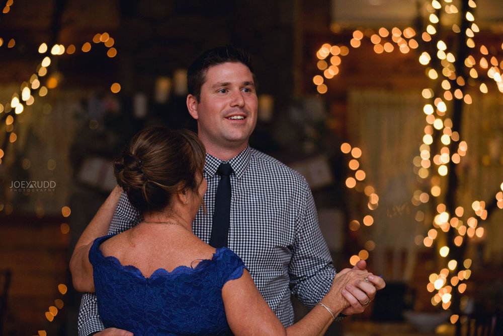 Bean Town Ranch Wedding by Ottawa Wedding Photographer Joey Rudd Photography Reception Wedding Venue Dancing Mother Son