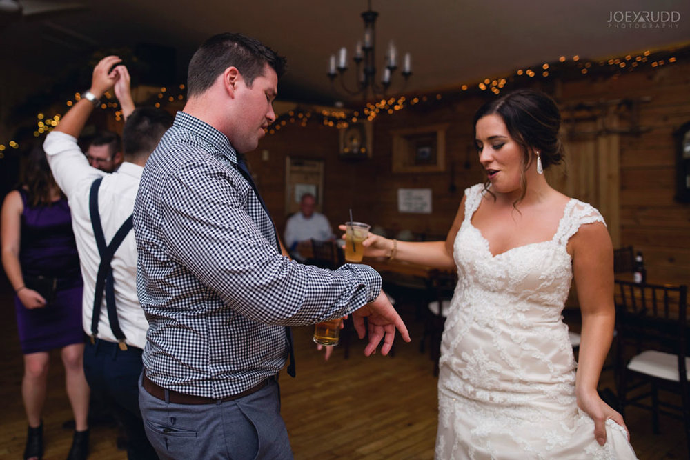 Bean Town Ranch Wedding by Ottawa Wedding Photographer Joey Rudd Photography Reception Wedding Venue Groom & Bride Dancing