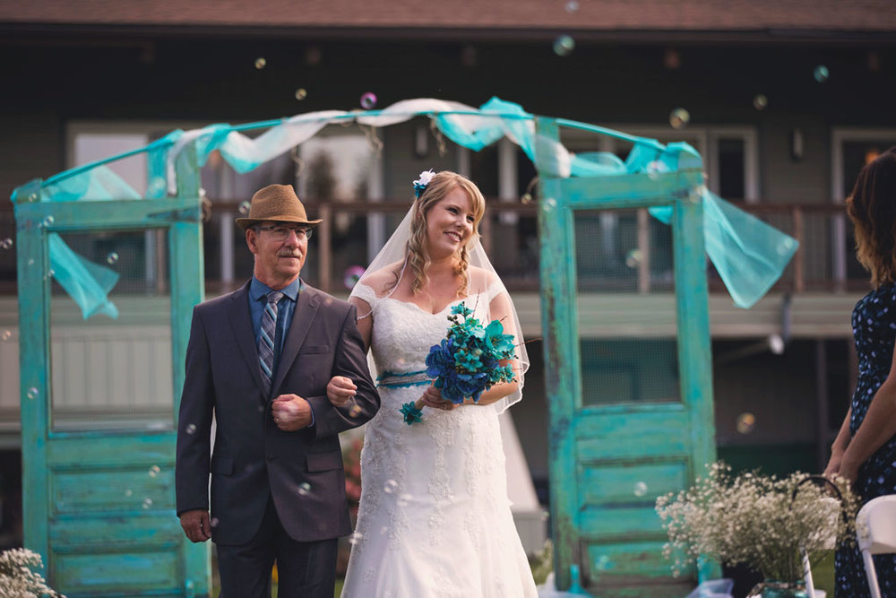 Sand Point Golf Course Wedding in Arnprior by Ottawa Wedding Photographer Joey Rudd Photography Ceremony