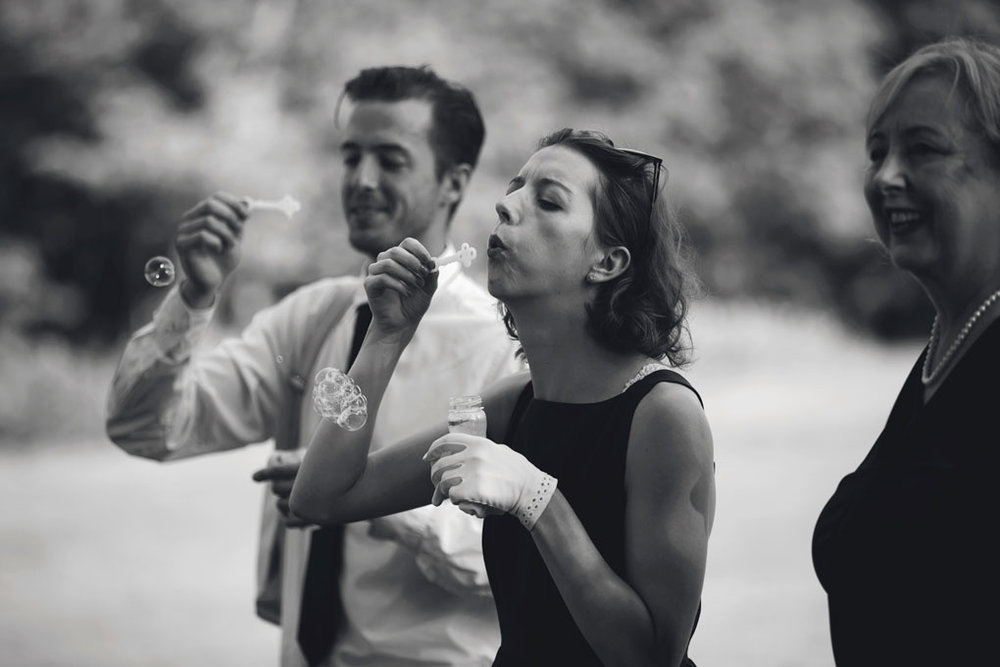 Sand Point Golf Course Wedding in Arnprior by Ottawa Wedding Photographer Joey Rudd Photography Ceremony Bubbles
