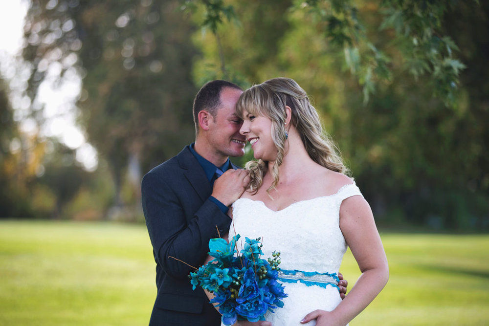 Sand Point Golf Course Wedding in Arnprior by Ottawa Wedding Photographer Joey Rudd Photography Bride and Groom