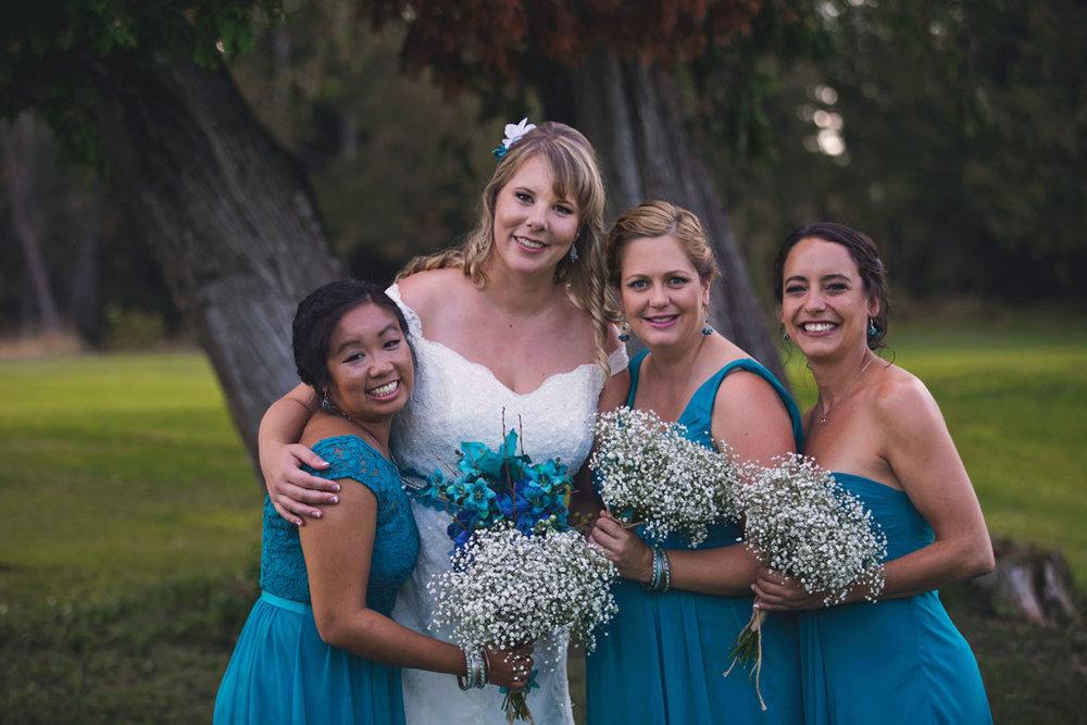 Sand Point Golf Course Wedding in Arnprior by Ottawa Wedding Photographer Joey Rudd Photography Bridesmaids