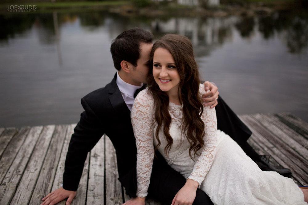 Orchard View Wedding by Ottawa Wedding Photographer Joey Rudd Photography Fall Wedding Dock