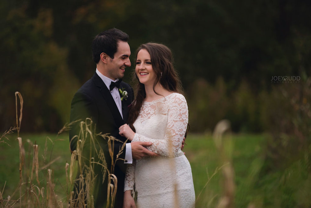 Orchard View Wedding by Ottawa Wedding Photographer Joey Rudd Photography Fall Wedding Meadow