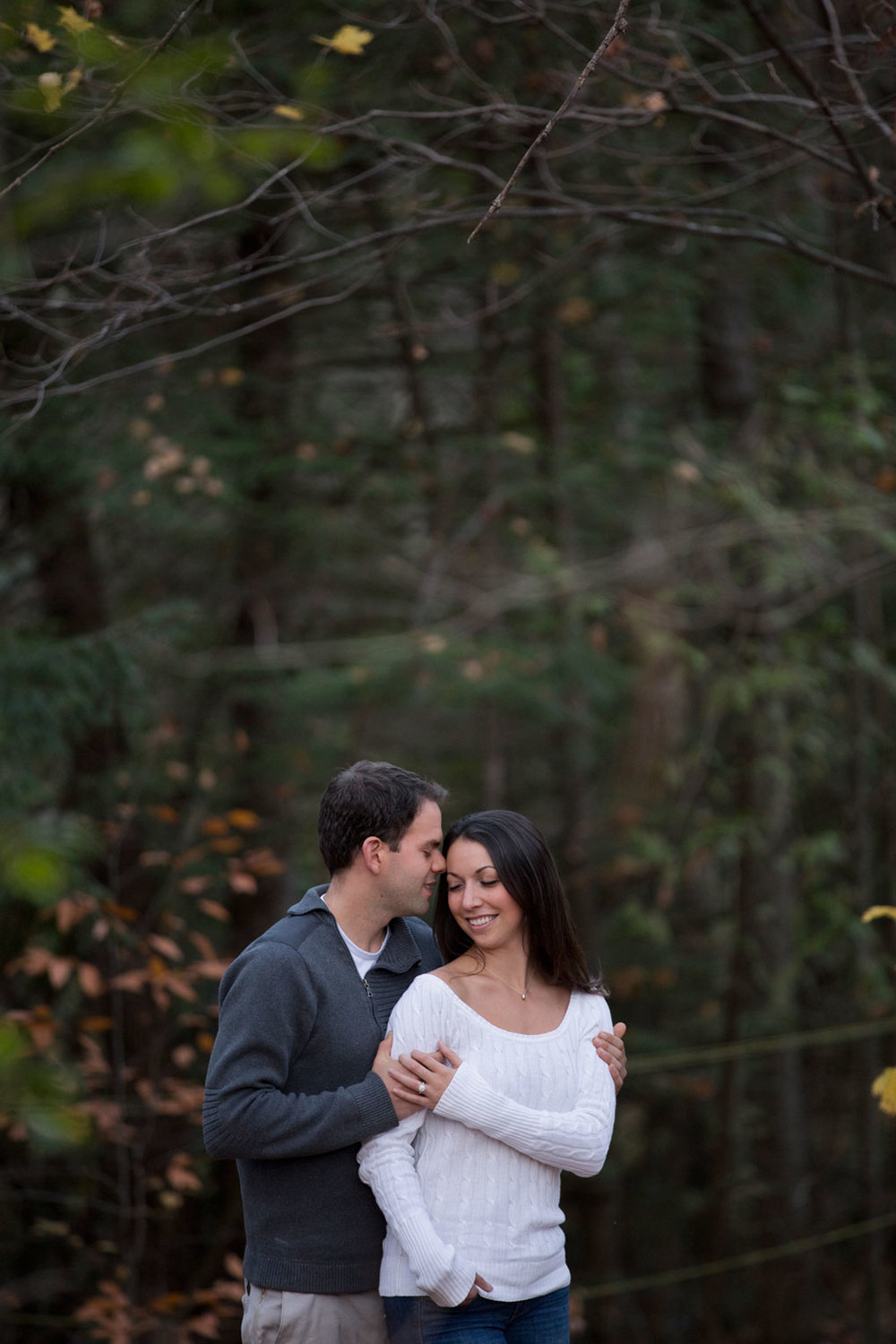 Mill of Kintail Engagement Fall Engagement Ottawa Wedding Photographer Joey Rudd Photography Forest