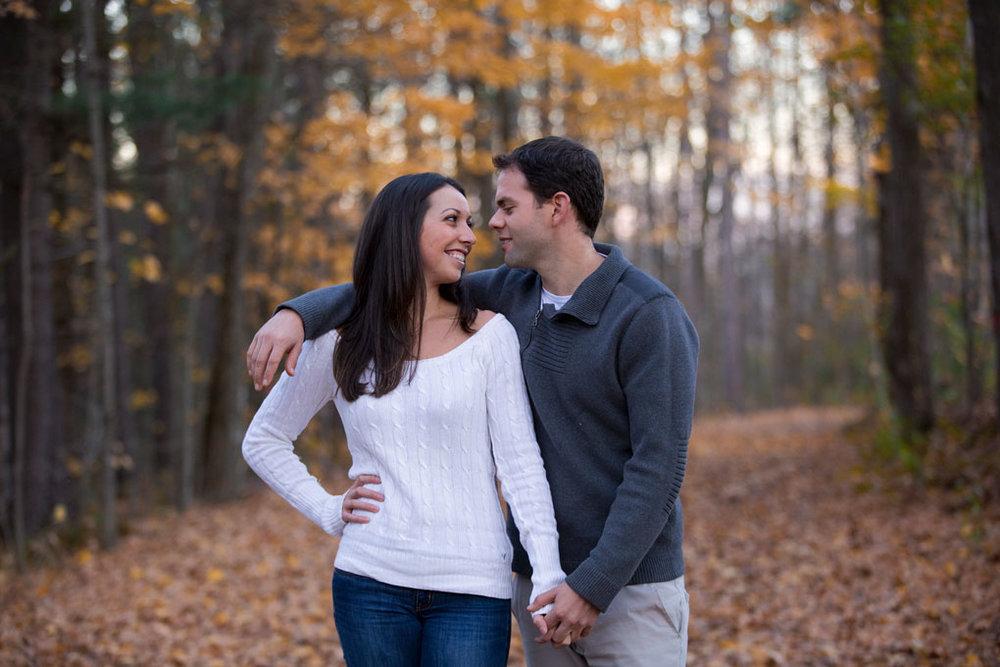 Mill of Kintail Engagement Fall Engagement Ottawa Wedding Photographer Joey Rudd Photography Fall Leaves