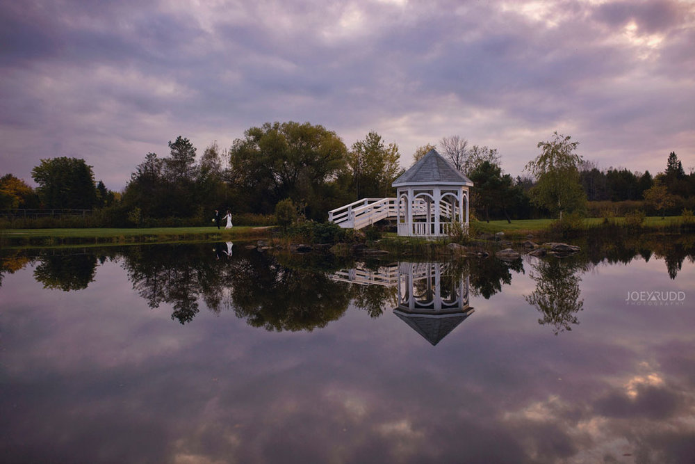 Orchard View Wedding by Ottawa Wedding Photographer Joey Rudd Photography gazebo