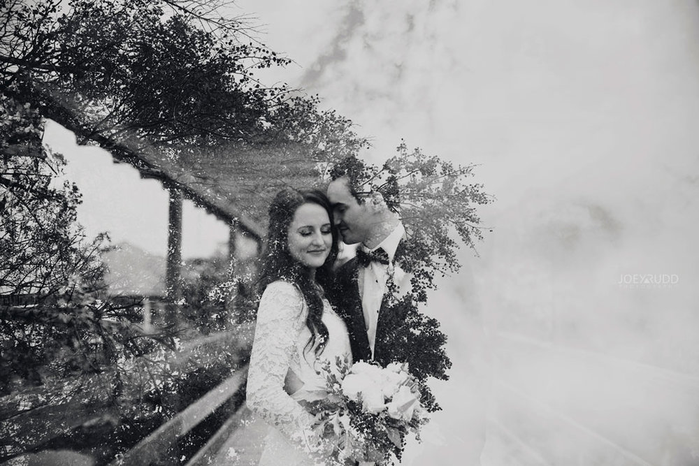 Orchard View Wedding by Ottawa Wedding Photographer Joey Rudd Photography double exposure