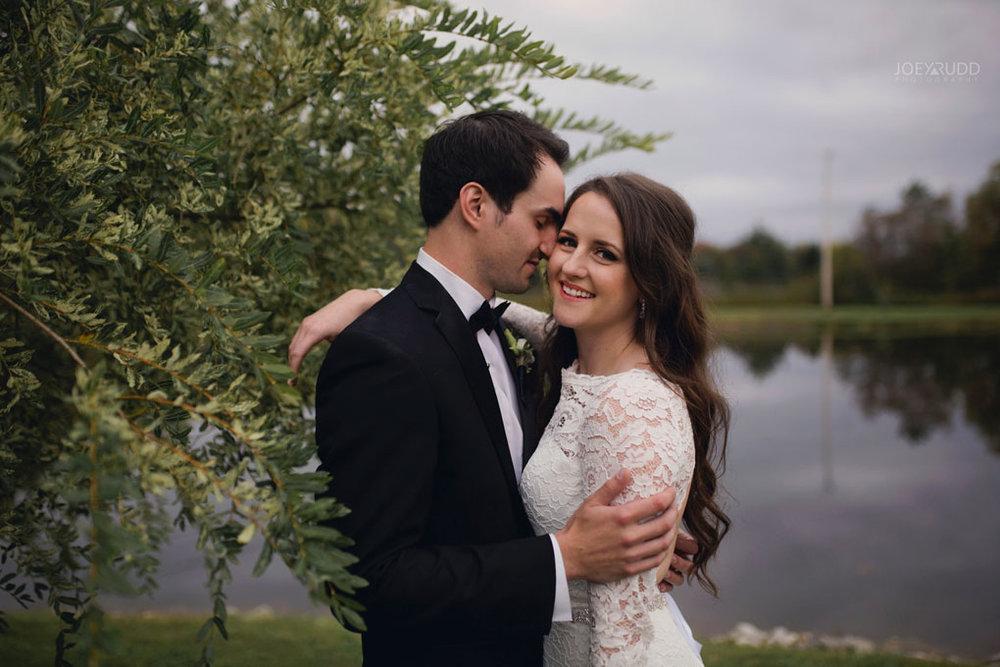 Orchard View Wedding by Ottawa Wedding Photographer Joey Rudd Photography pond