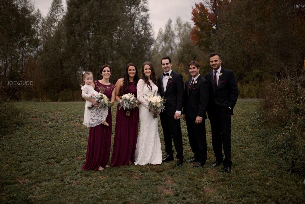 Orchard View Wedding by Ottawa Wedding Photographer Joey Rudd Photography Wedding Party