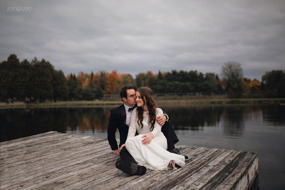 Orchard View Wedding by Ottawa Wedding Photographer Joey Rudd Photography Dock Water