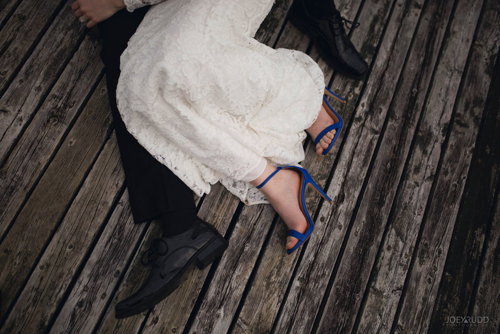 Orchard View Wedding by Ottawa Wedding Photographer Joey Rudd Photography Shoes Dock