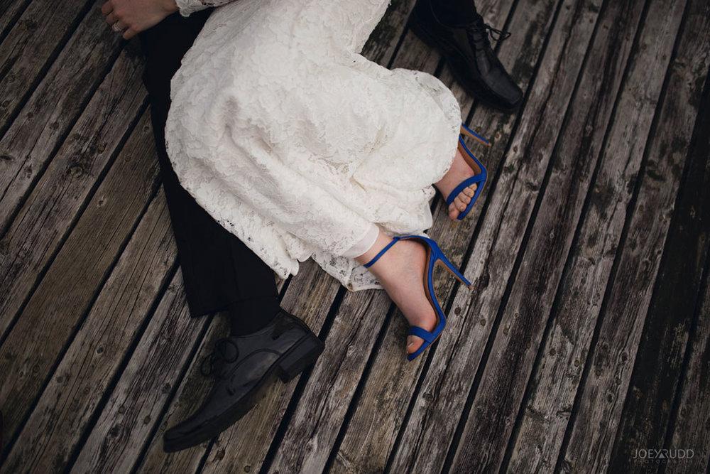 Orchard View Wedding by Ottawa Wedding Photographer Joey Rudd Photography Shoes Dock