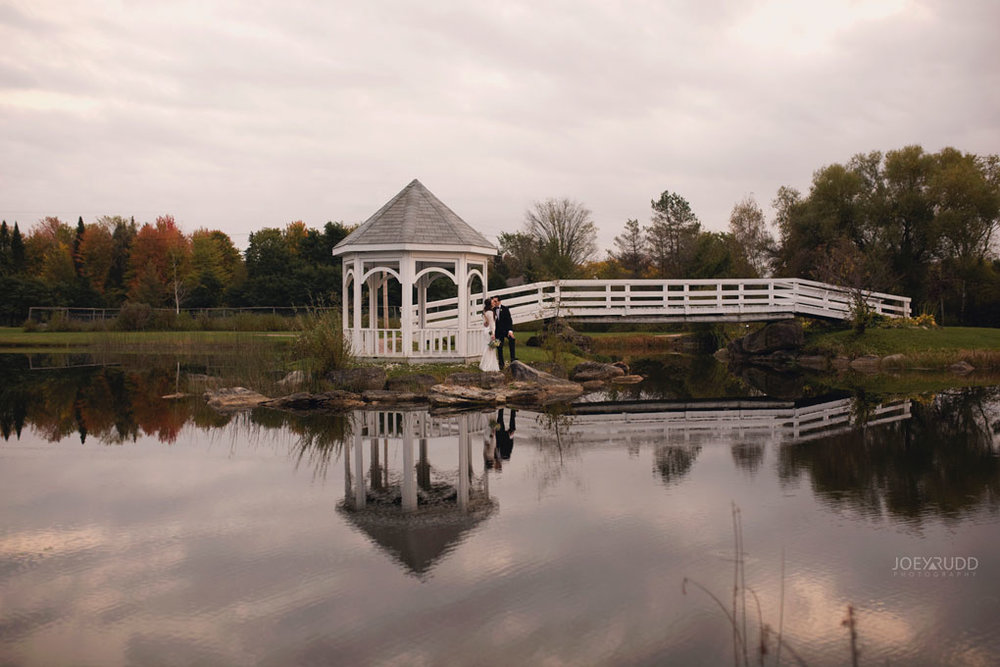 Orchard View Wedding by Ottawa Wedding Photographer Joey Rudd Photography water gazebo