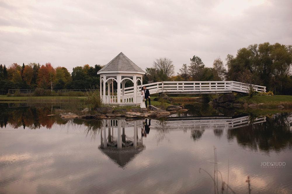 Orchard View Wedding by Ottawa Wedding Photographer Joey Rudd Photography water gazebo