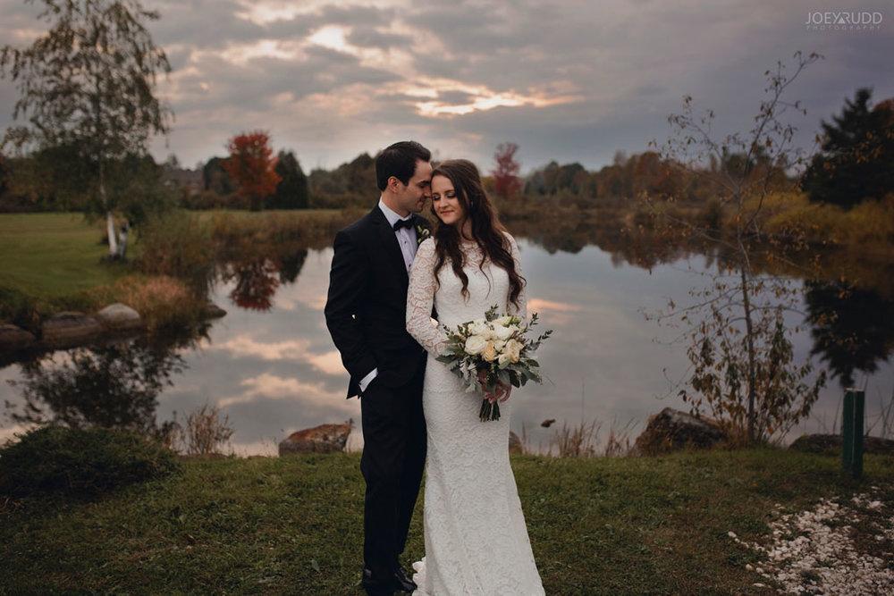 Orchard View Wedding by Ottawa Wedding Photographer Joey Rudd Photography sunset