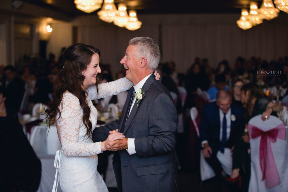 Orchard View Wedding by Ottawa Wedding Photographer Joey Rudd Photography candid Father Daughter Dance