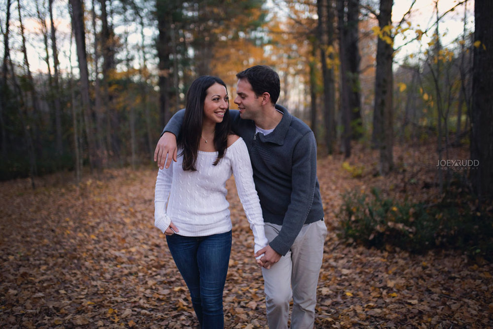 Mill of Kintail Engagement by Ottawa Wedding Photographer Joey Rudd Photography Fall Photos Fun Natural