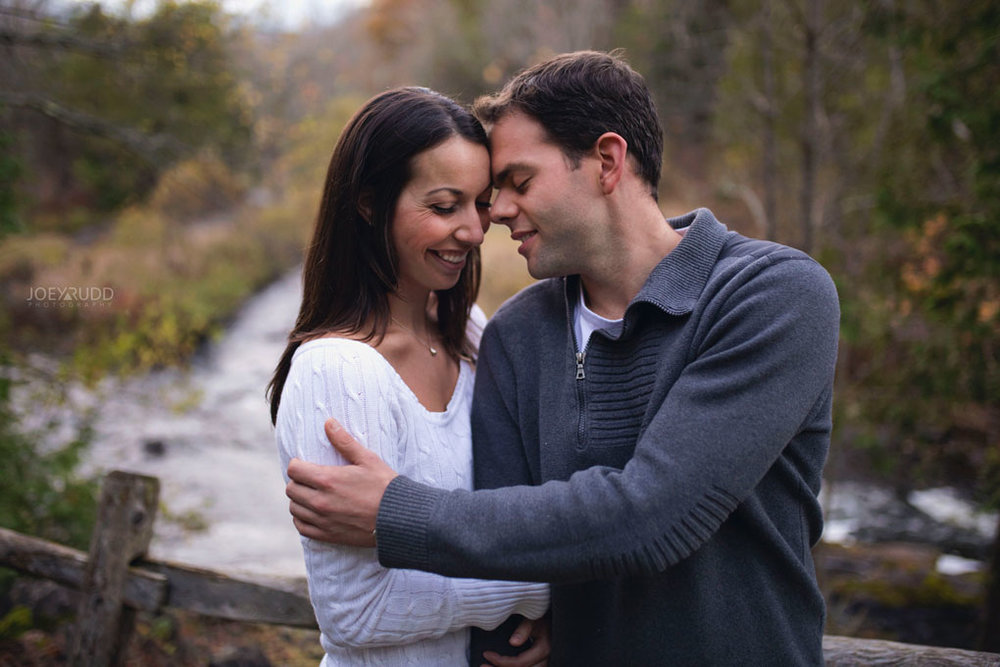 Fall Engagement at the Mill of Kintail by Ottawa Wedding Photographer Joey Rudd Photography Fall Photos Water