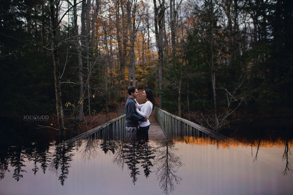 Fall Engagement at the Mill of Kintail by Ottawa Wedding Photographer Joey Rudd Photography Fall Photos Multiple Exposure
